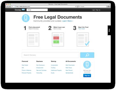 Captura de pantalla que muestra la propuesta de valor de una web