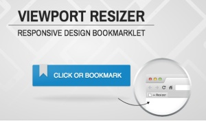 Responsive design Resizer Bookmarklet
