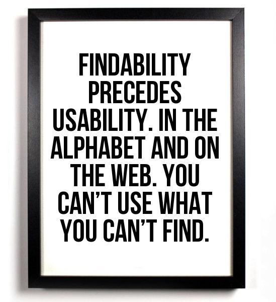 findability, SEO estrategico